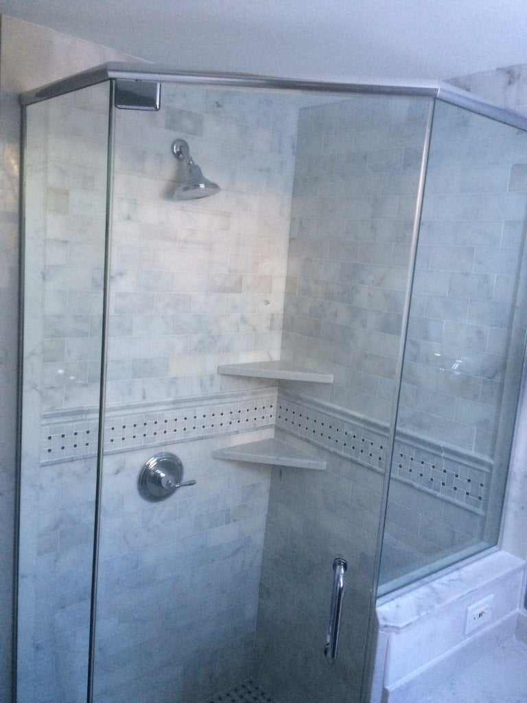 Neo-Angle Glass Shower Doors | Design & Installation | GlassWorks