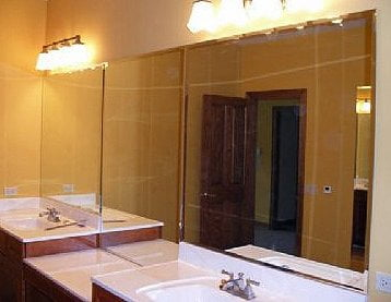 Bathroom Mirrors Chicago chicago bathroom vanity mirrors | chicago bathroom double vanity