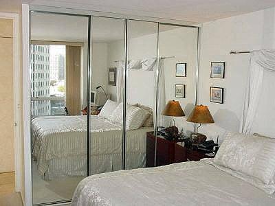 Chicago Bypass Closet Doors Chicago Mirrored Bypass Closet Doors