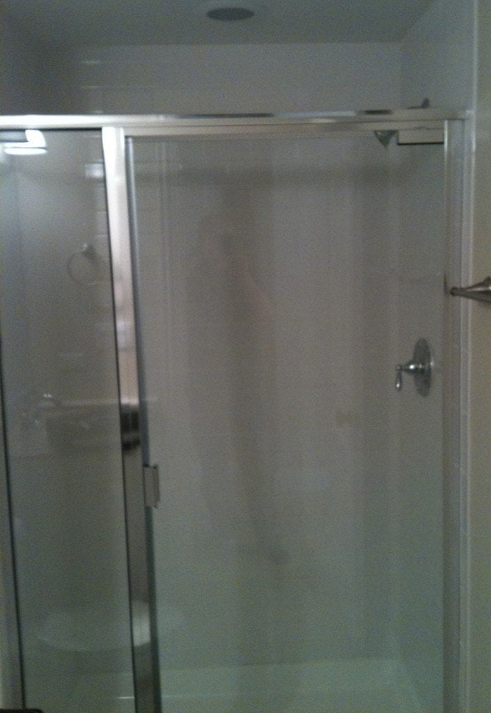Chicago Framed Glass Shower ...
