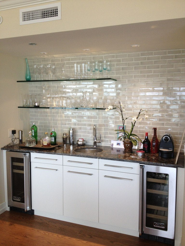 Chicago Glass Shelving | Chicago Bar Glass Shelves | GlassWorks