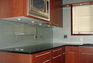 Chicago Backpainted Glass Kitchen Backsplash