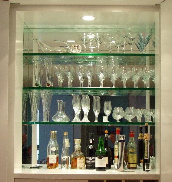 Astounding Bar Mirror Custom Bar Mirrors Chicago Glassworks Download Free Architecture Designs Ferenbritishbridgeorg