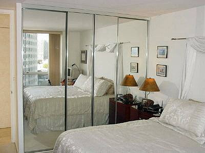 Chicago Byp Closet Doors Mirrored Sliding Door Installation