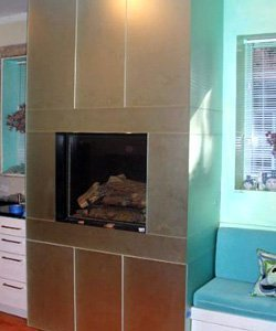 Chicago Fireplace Mirrors Installation