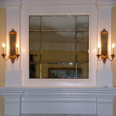 FIREPLACE MIRRORS