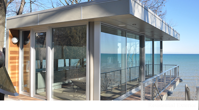 Skokie Glass Sliding Patio Door