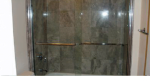 glass shower doors in Wilmette