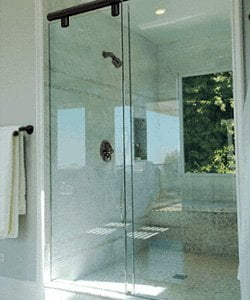 buy sliding glass shower doors in Addison