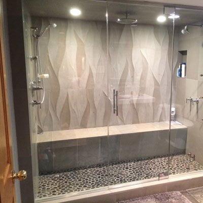 Glass Steam Shower Enclosures