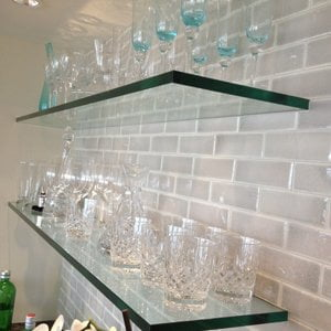 Tempered Glass Shelving