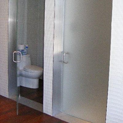 Glass Toilet Enclosures